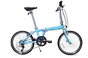 Allen Sports Urban X 7-Speed Folding Bicycle