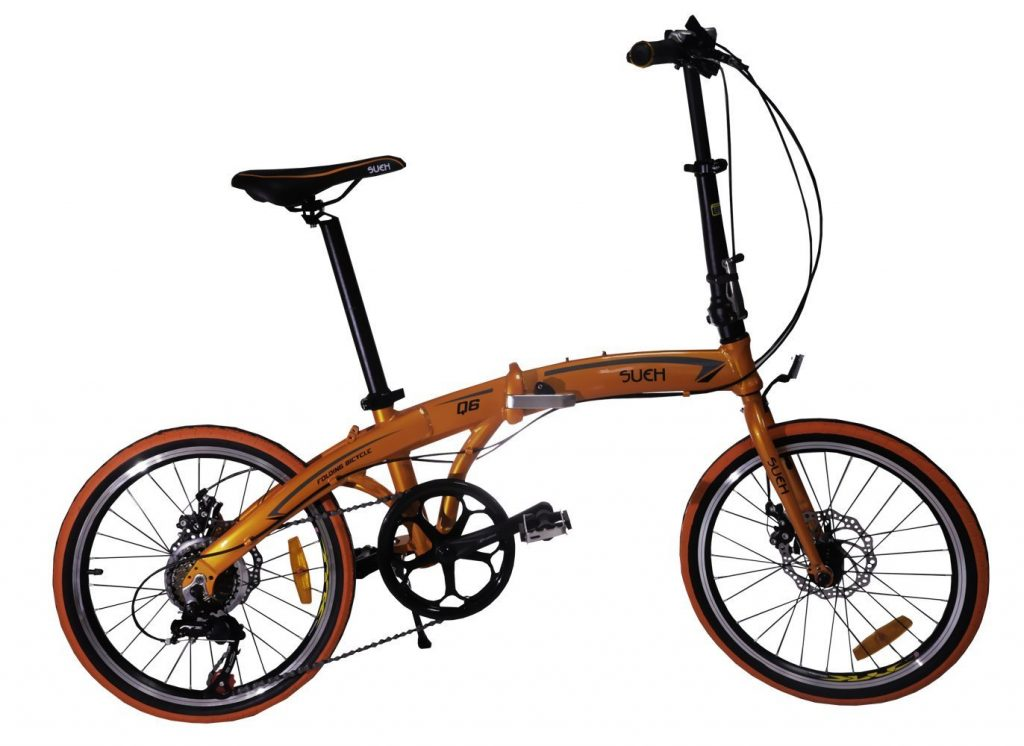 Sueh Q6 - 7 Speed Folding Bike Review