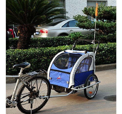 Read more about the article Aosom Elite II 3in1 Double Child Bike Trailer