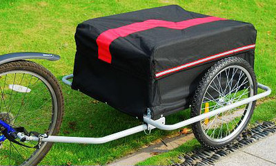 Aosom Elite II Bike Luggage Trailer Review