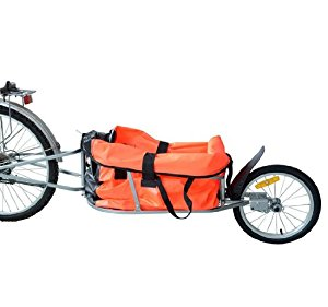 Aosom Solo Single-Wheel Bicycle Cargo Bike Trailer Review
