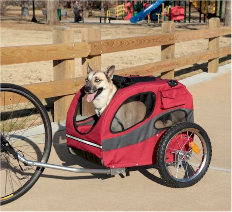 Aosom Elite Ii Pet Dog Bike Bicycle Trailer Review 2019