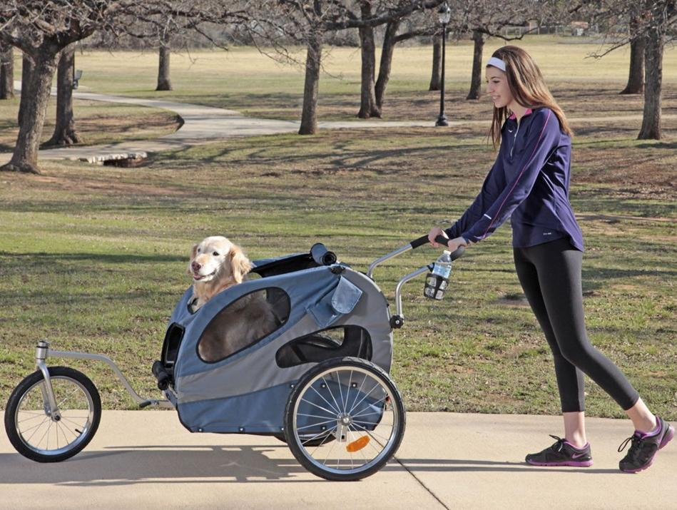 Solvit Hound About Pet Bicycle Trailer Review