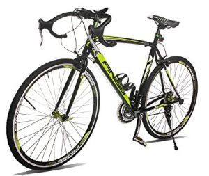Merax Finiss Aluminium- 21 Speed 700c Road Bike Racing Bicycle Shimano