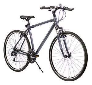 XDS Men's Cross 300 24- Speed Hybrid Bicycle