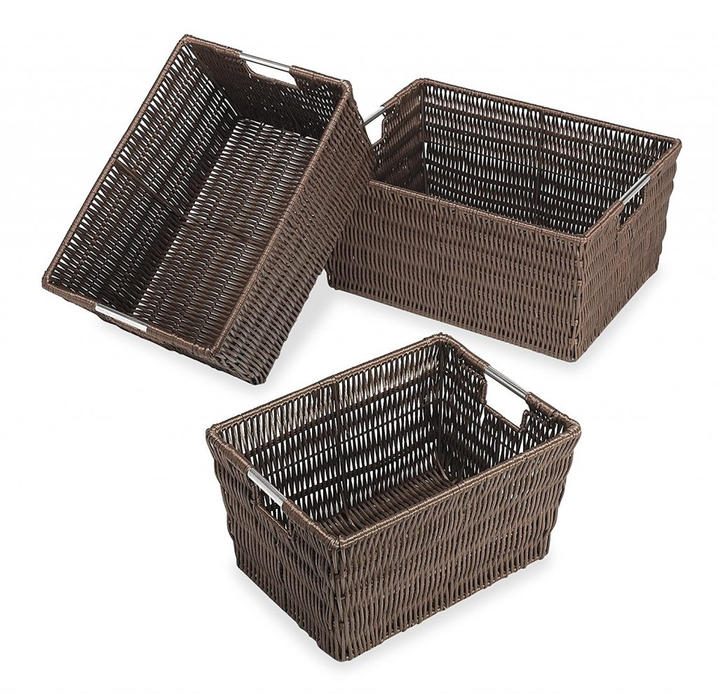 Whitmor Rattique Storage Baskets Review