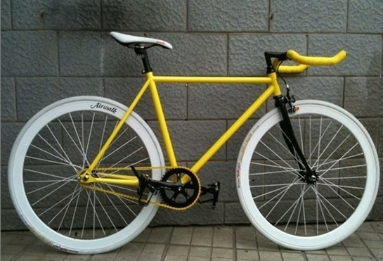 custom fixie bike