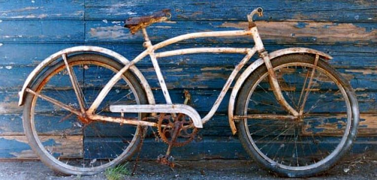 how to remove rust from bikes