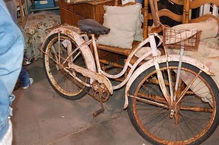 how to remove rust form bikes