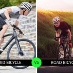 hybrid bicycle vs road bicycle